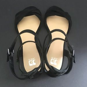 Joe's Black Suede Sandal
